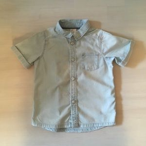 Short Sleeve Button Down by H&M, sz 2-3 yrs